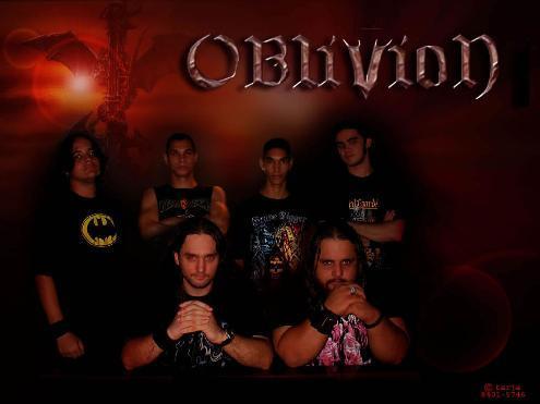 Formação clássica da OBLIVION. (Foto: PalcoPrincipal)