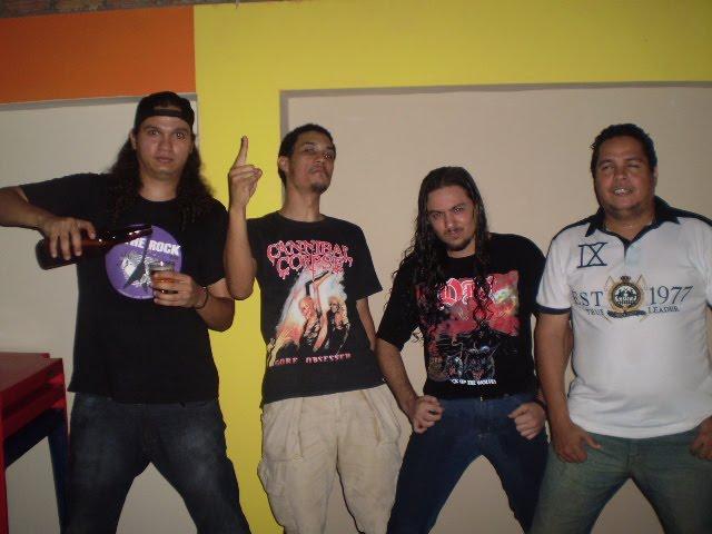 Bandas do Acre, como a SILVER CRY, se tornaram parceiras e muito ativas nos eventos em Rondônia. (Foto: FelizMetal)