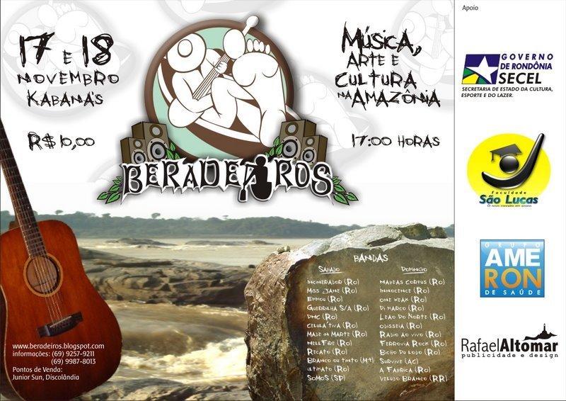 Cartaz do Festival Beradeiros.